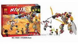 Конструктор Bela 10525 Ninja Ниндзя Ninjago Ниндзяго Робот Ронина 454 дет