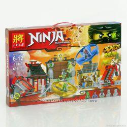 Конструктор Ninjago Аэроджитцу Поле битвы 694 дет, 79349