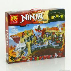 Конструктор Ninja Самурай Х Битва в пещерах 1303 дет арт. 79348