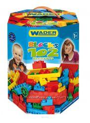 Wader Конструктор 102 элемента 41290