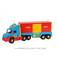 WADER Фургон Super Truck арт. 36510, 36570