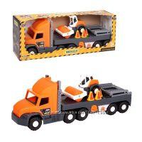 Машина Super Truck , с котом, в кор. 27 82 20 см, Тм Wader арт. 36740