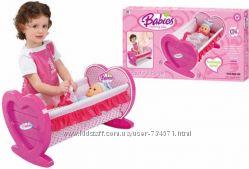 Розовая колыбель для куклы 008-08