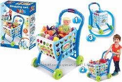 Игровой набор Тележка для супермаркета с продуктами 008-903A