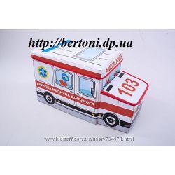 Пуф детский Скорая помощь , Арт 603014