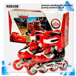 Ролики Disney Cars M 35-38 RS0108