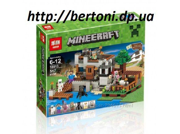Конструктор Lepin 18013 Береговая цитадель  Minecraft Майнкрафт, 10622