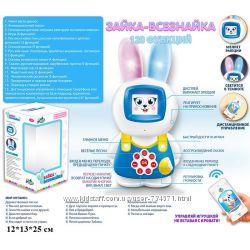 Интерактивная игрушка Зайка Всезнайка 7576 Play Smart, Умный попугай 7496