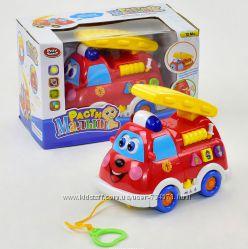 Развивающая музыкальная игрушка Пожарная машина 9163 Play Smart