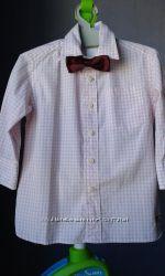 Рубашка 92 размер Crewcuts XS 100хлоп