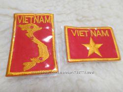 Нашивки из Вьетнама. Цена за пару.