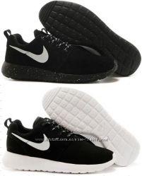 Кроссовки Nike Roshe Run, замшевые, р. 36-45