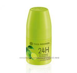 Дезодорант-Антиперспирант 24Ч Зелёный Лимон Мексики, Ив Роше