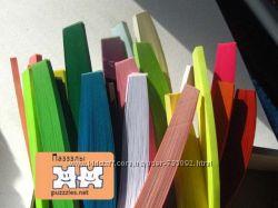 Бумага для квиллинга в полосках одного цвета
