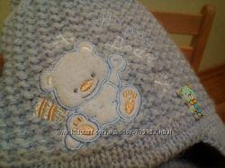 Шапочка зимняя для малыша