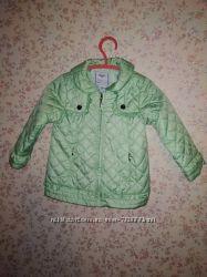 Весенние куртки Mayoral рост 80см персиковая мятная для двойни