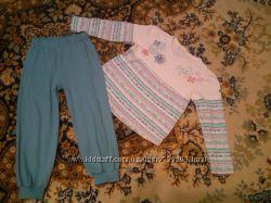 Пижамка девочке 2-4 года