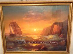 Продам картину морской пейзаж