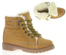 ботинки зима утепленные мех р 38