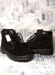 ботинки фирменные  зима кожа натуральная