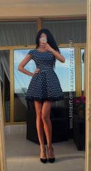 Потрясающие коктейльные платья  бебидолл из тафты