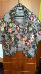 Шикарная двухсторонняя куртка размер С М Л ХЛ  Италия