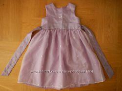 92-98 см Mini Mode как новое нарядное фирменное платье. Длина - 61 см, до ю