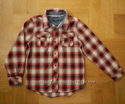 9-10 Cherokee как новая рубашка хлопок. Длина - 55-59 см, ширина - 41 см, п