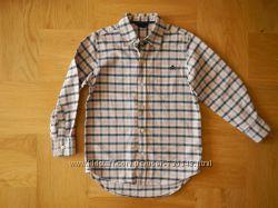 110 см Gap теплая как новая рубашка хлопок. Длина от плеча - 55-59 см, шири