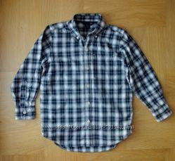 116-122 см Gap как новая стильная рубашка хлопок. Длина 5558 см, ширина 42