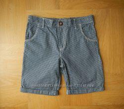 10-11 лет F&F как новые яркие шорты. Длина - 42 см, пояс с утяжками максиму