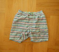 11-12 лет Zara как новые шорты бриджи пляжные. Длина - 37 см, пояс 30-38 см