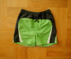 3-4 года Chicco как новые яркие фирменные шорты пляжные. Длина 30 см, пояс