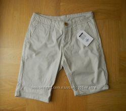 152-164 см Primark новые шорты бриджи хлопок. Длина - 49 см, пояс 36 см, бе