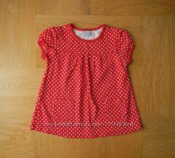 74-83 см TU как новая фирменная футболка хлопок. Длина - 37 см, шир