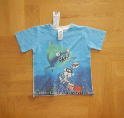 104-110 см Urban Rascals новая фирменная футболка. Длина 42 см, ширина - 35
