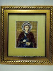 Икона Святой Пантелеймон Целитель.