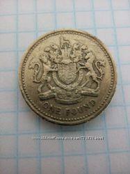 1 фунт Англии