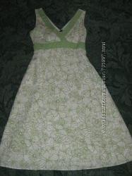 Очень красивое льняное платье F&F