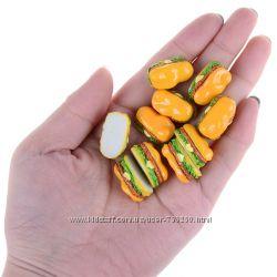 &nbspКукольная миниатюра еда Хот дог для кукол 1 к 6.