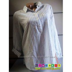 23357-1 Рубашка женская,  с длинным рукавом, 1-2 на пуговичках,  Papaya