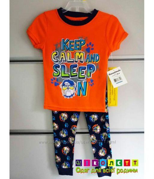 Пижама на мальчика, трикотажная, короткий рукав GARANIMALS