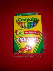 Карандаши - восковые мелки Crayola 24 шт