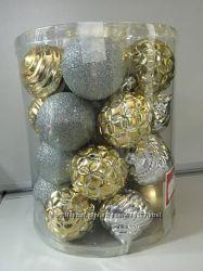 Набор новогодних игрушек Holiday Time 26 шт