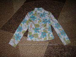 Классный пиджак размер UK 10, наш С-М, Blu Aqua.