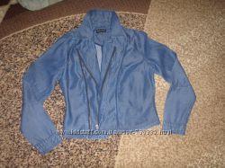 Легкий джинс. пиджак, размер UK10, наш с-м, Denim.