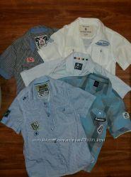 Красивые рубашки для мальчика, рост 140 см9-10 лет, Rebel.