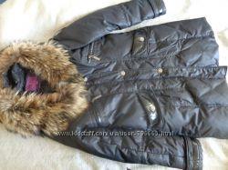 Пуховик черный SnowBeauty размер L