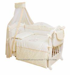 Комплект для детской кроватки Twins Romantic Baloniki 6 элементов