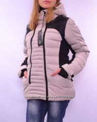 Зимняя куртка в спортивном стиле, два цвета. Европа